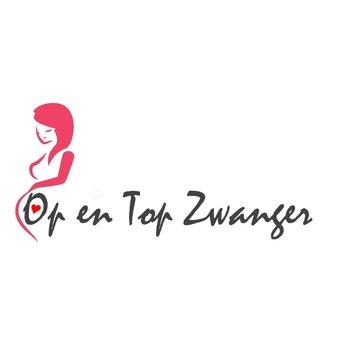 Op en top zwanger logo